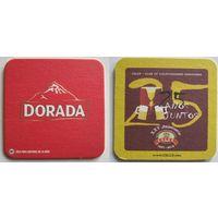 "Подставка под пиво ""Dorada""( Испания)."