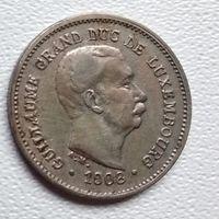 Люксембург 5 сантимов, 1908 6-3-8