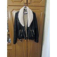 Куртка женская косуха зимняя 46 р