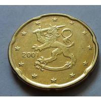 20 евроцентов, Финляндия 2001 г.