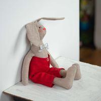 Заяц Тильда тряпичная кукла зайка