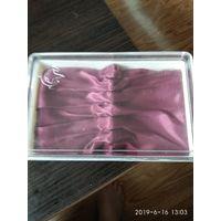 Старая коробка от чайных ложек изготовлена в СССР пластмасса.