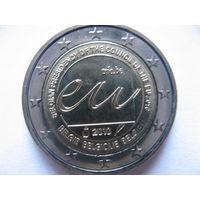 Бельгия 2 евро 2010г. Председательство Бельгии в Европейском Союзе. (юбилейная) UNC!