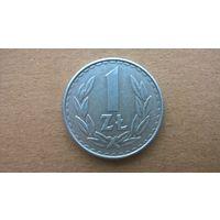 Польша 1 злотый, 1986г. (D-8)