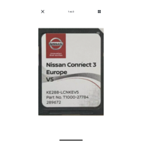 2020 Nissan Connect 3 V5, спутниковая навигация, LCN3, SD-карта 2020 Qashqai Juke Micra Pulsar Tiida X-Trail