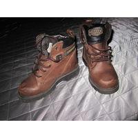 Ботиночки деми, натуральная кожа. По стельке 18 см.