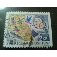 Швеция 1987 Рождество
