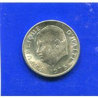 Гаити 5 сантимов 1975 UNC