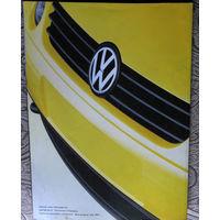 Рекламный буклет на автомобиль Volkswagen Lupo
