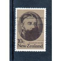 Новая Зеландия. Сэр Джулиус Фогель.Ми-766. 1979