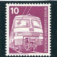 Западный Берлин.  Стандарт. Пригородный поезд, электричка