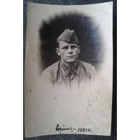Фото военного.  1936 г. 6.5х10 см