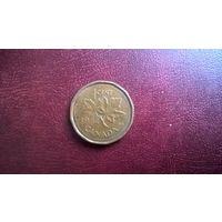 Канада 1 цент, 1984