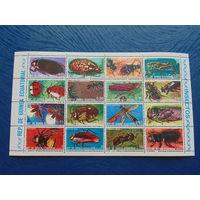 Экв. Гвинея 1974 г. Фауна. Насекомые.
