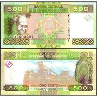 Гвинея. 500 франков 2017 [UNC]