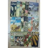"""Журналы """"PLON""""1938г. (2, 4, 6, 7, 8, 9, 10, 12) 1939г. (1, 2, 3, 4, 5, 6, 8) 15шт."""