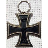 Железный крест 2 степени 1914 Оригинал Магнитный Клеймо S-W