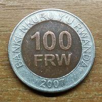 Руанда 100 франков 2007 Распродажа коллекции