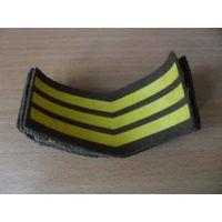 Нарукавная нашивка (шеврон) за выслугу лет прапорщиков ВС СССР