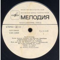 Алексей Экимян - Вахтанг Кикабидзе - Пожелание - LP - 1981