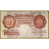10 шиллингов 1949-55гг