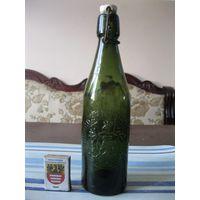 Старинная пивная бутылка. Германия, первая половина 20 столетия. (1).