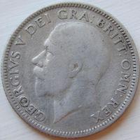 6. Британия 1 шиллинг 1927 год, серебро*