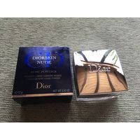 Dior рассыпчатая пудра Diorskin Nude Rose Powder (2Y02)