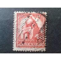 Мексика 1937 стандарт 4 с