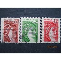 Марка Франция 1978-1979 год   Sabine