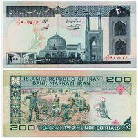 Иран. 200 риалов (образца 1982 года, P136e, подпись 31, вз Хомейни, UNC)