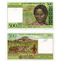 Мадагаскар. 500 франков 1994. [UNC]