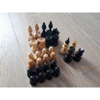 Шахматы советского периода. Дерево + пластик