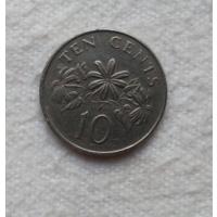 10 центов 1986 г. Сингапур