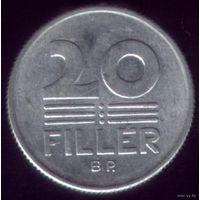 20 филлер 1972 год Венгрия