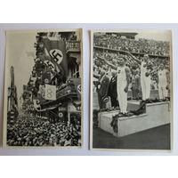 Олимпиада 1936 г. Третий Рейх. Две карточки из группы номер 61, отличное состояние...