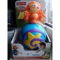 Музыкальная игрушка Fisher price обезьянка