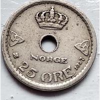 Норвегия 25 эре, 1927 4-4-48