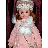 Кукла в родной одежде и обуви 56 см (есть сменная куртка и берет)