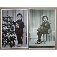 Два фото девочки. 1960-е. 11х16 см.Цена за оба.