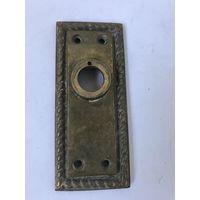Накладка от дверной ручки Латунь/бронза