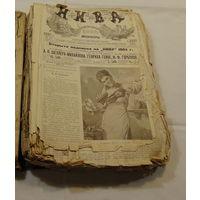 """1904 год.Подшивка элюстрированного журала """"НИВА"""""""