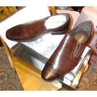 Туфли мужские новые, р-р 40
