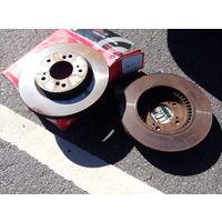 Тормозные диски TRW DF 4028  Honda original id 45251-S2H-N00 hr-v cr-v prelude legend  integra shuttle odyssey