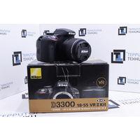 Зеркальная камера Nikon D3300 Kit 18-55mm VR II. Комплект. Гарантия.