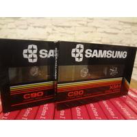 Кассеты новые SAMSUNG XM-1 С90