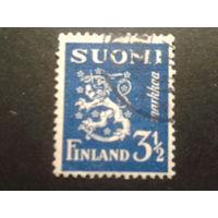Финляндия 1936 стандарт, герб