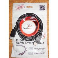 Новый кабель DisplayPort Gembird CC-DP-6, 1,8 м