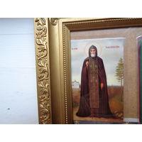 """Икона """"Св. преп. Иова, игумена Почаевского""""."""