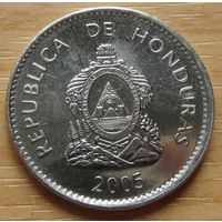 ГОНДУРАС-50сентаво2005г. KM# 84